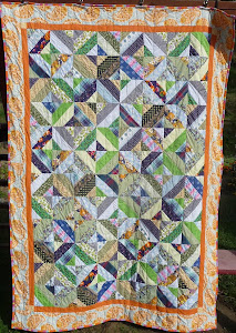 Rybník  - The pond quilt