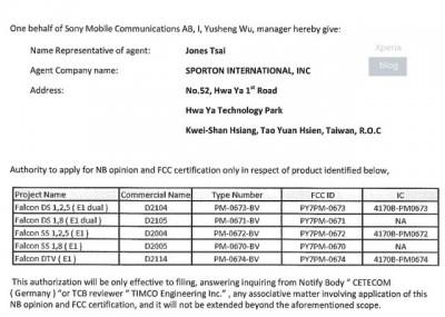 Sony Xperia E1 dan Xperia E1 Dual Kantongi Lisensi FCC