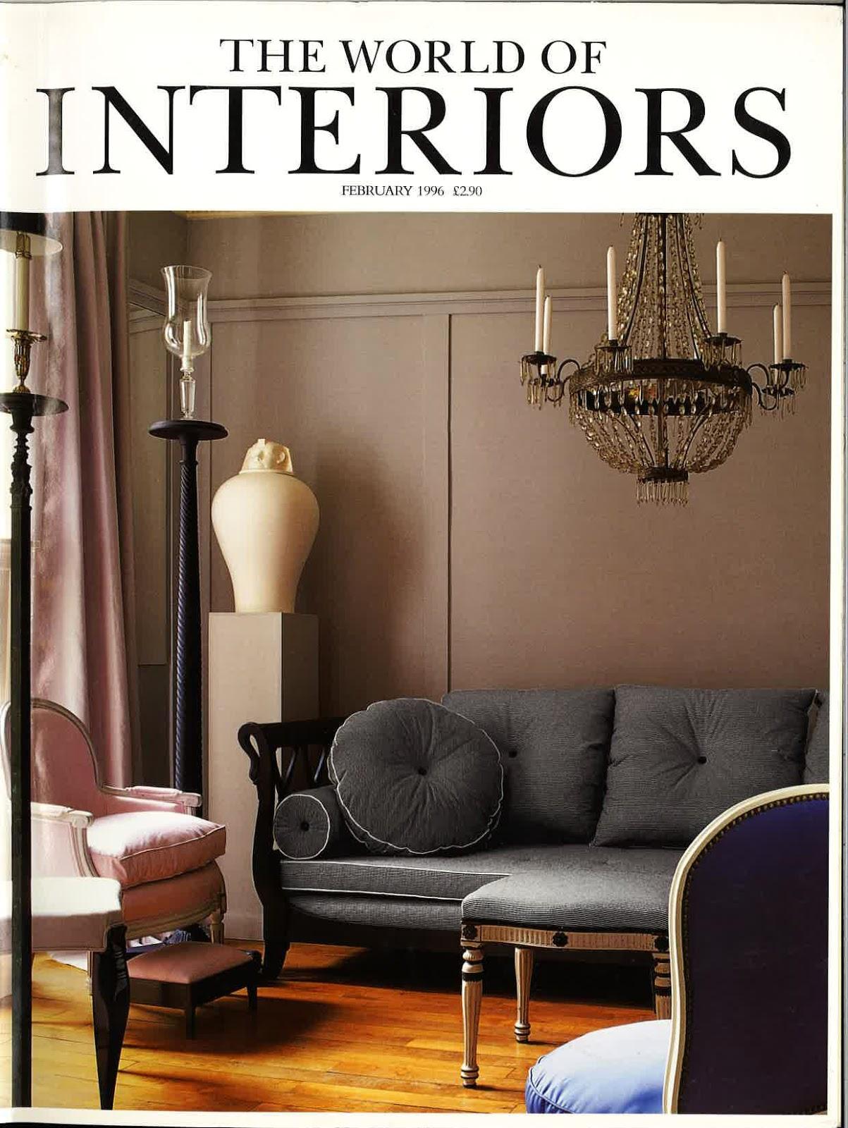 THE WORLD OF INTERIORS | FEBRUARY 1996
