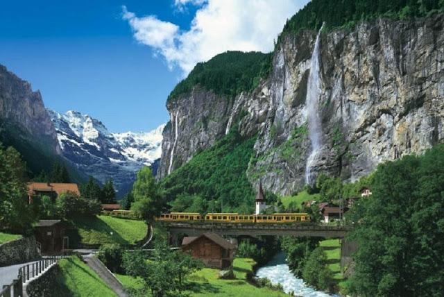 vadide tren yolu