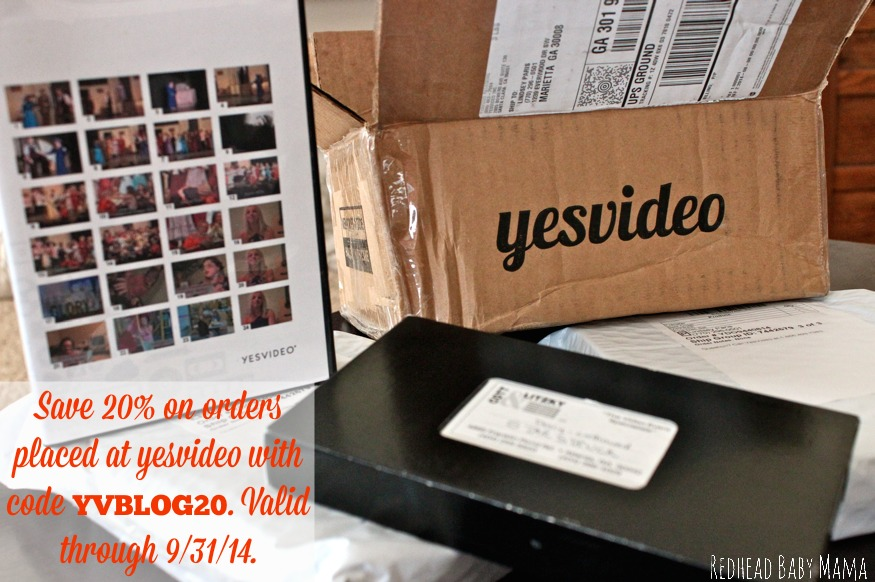 Save 20% on your order with promo code YVBLOG20.  Enter to win a $50 gift card to transfer your memories!!