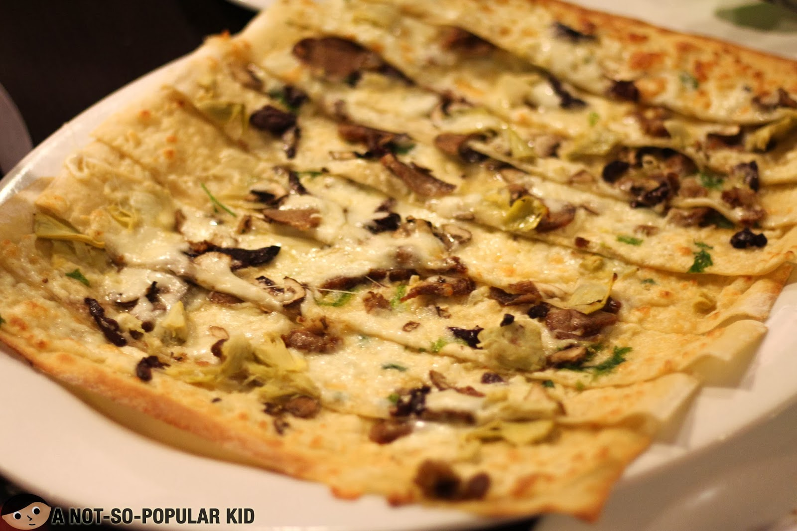 Exquisite and unique - Original Aura pizza by Chef Chris!