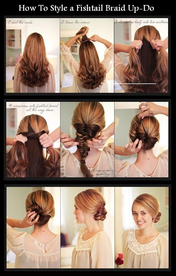 How to Do Fishtail Braids Step by Step
