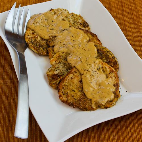 Turkey Cutlets with Dijon Sauce