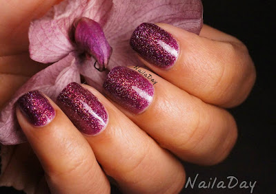 NailaDay: L.A. Girls 3D Effects Purple Effect