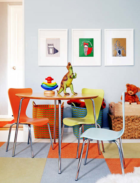 Healthy Interior Paint in Kids Area - Zero VOC + Anti-Mildew