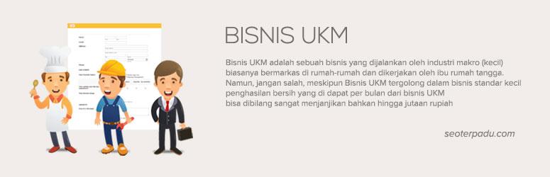 Bisnis UKM (Usaha Kecil Menengah) Menjanjikan Omset Jutaan