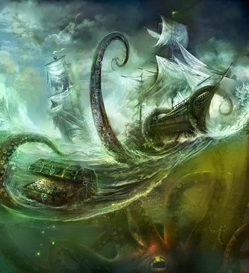 poseidon vs the kraken - photo #35