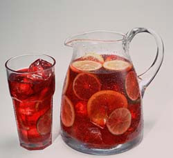 Sangria recipe www.thebrighterwriter.blogspot.com