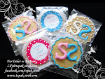 MONOGRAM COOKIES ALMOND