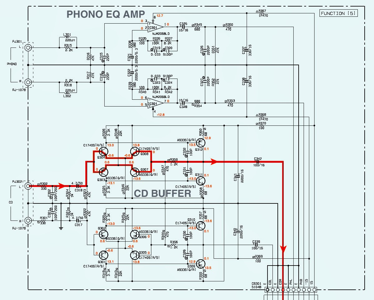 untitled.bmp yamaha ax 596 power & amp schematic [circuit diagram] stereo yamaha schematic diagram at n-0.co