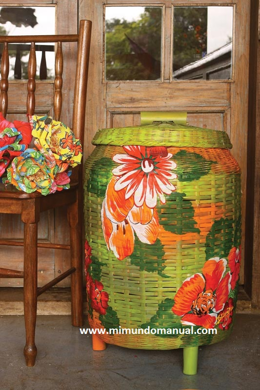 How to Decorate with Fabric Baskets