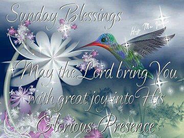Sunday Blessings