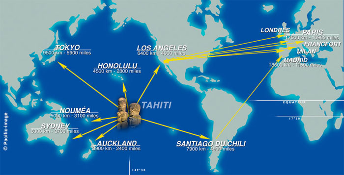 Carte Du Monde Tahiti.Tahiti Ses Iles Et Autres Bouts Du Monde Tahiti And Its Islands