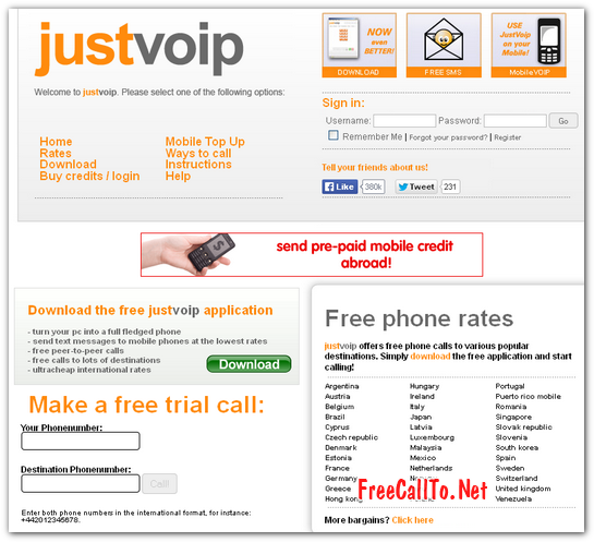 Free calling software for pc to mobile download