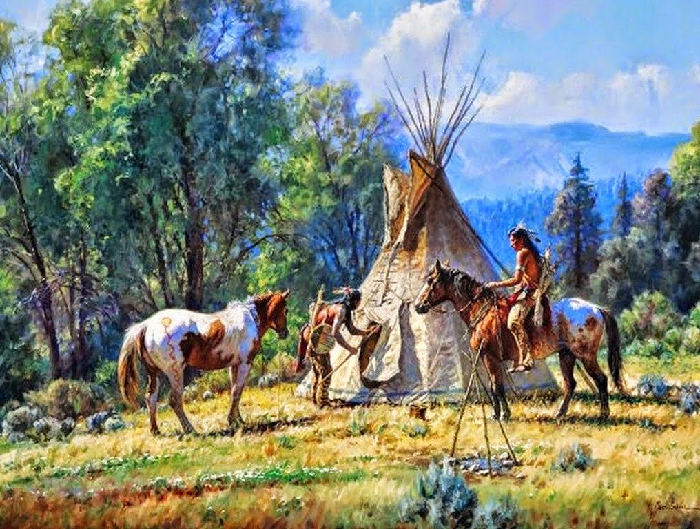 indios-americanos-en-paisajes