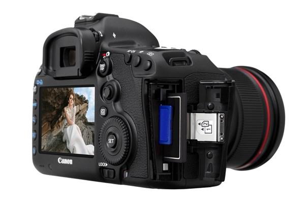 Nova câmera canon