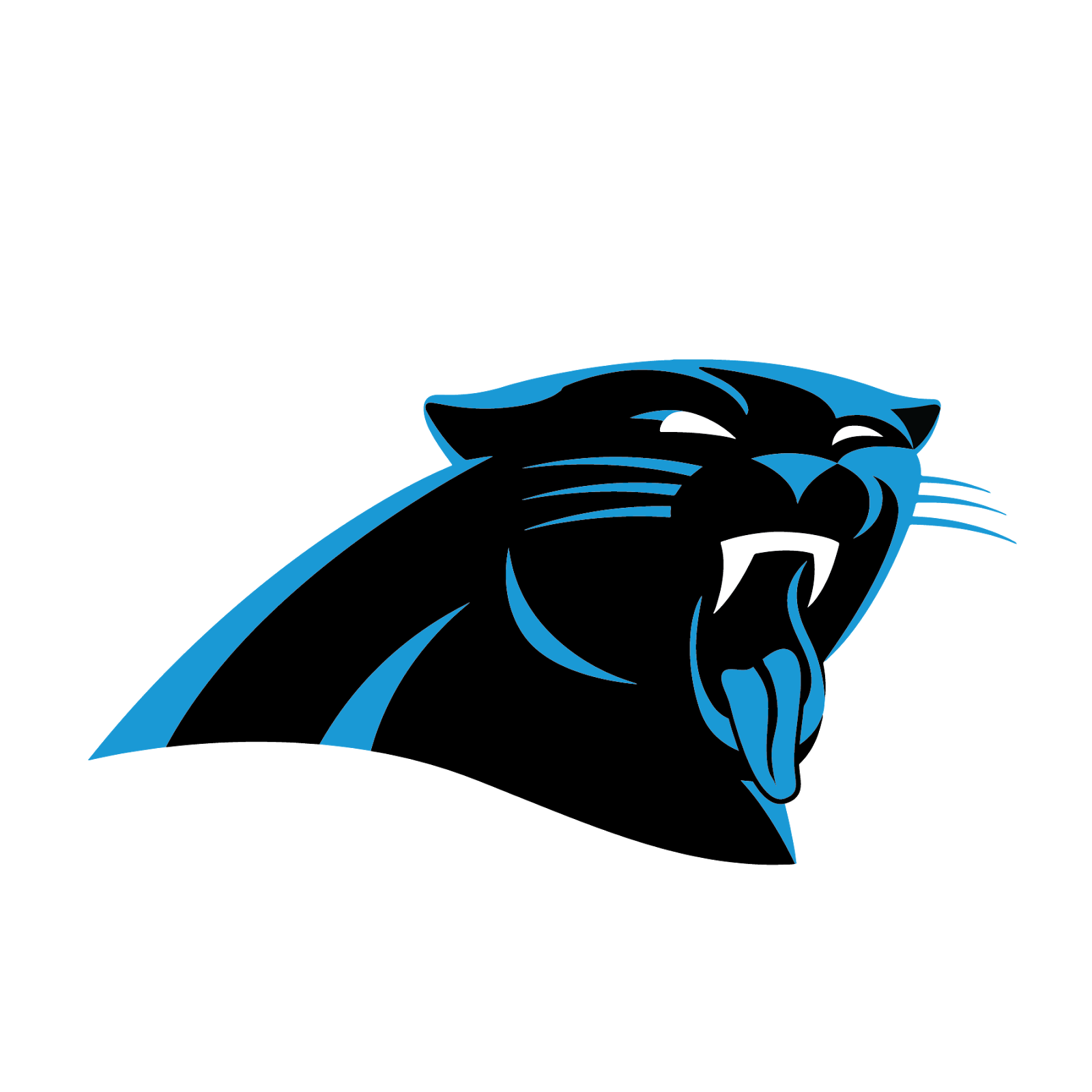Carolina Panthers, metal, logo, re-imagined