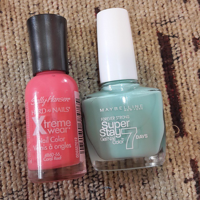 My Nails Rockz!: Blue Mirror Effect Animal Print Nails! (Swatches ...