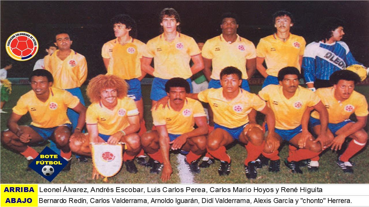 Resultado de imagen para valderrama colombia futbol