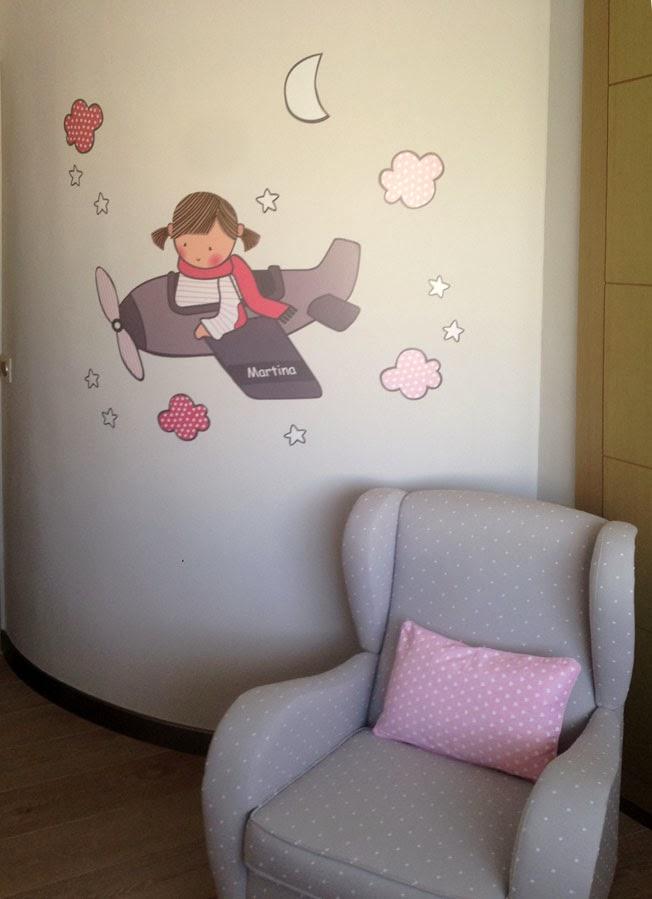 Vinilos infantiles personalizados - Stencil barcelona ...