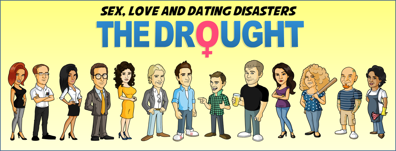 Comedy dating show