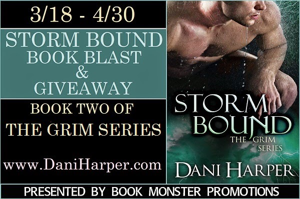 STORM BOUND Book Blast & Giveaway