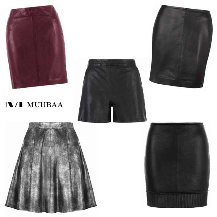 SKIRTS AND SHORTS MUUBAA A/W 2013 New Collection
