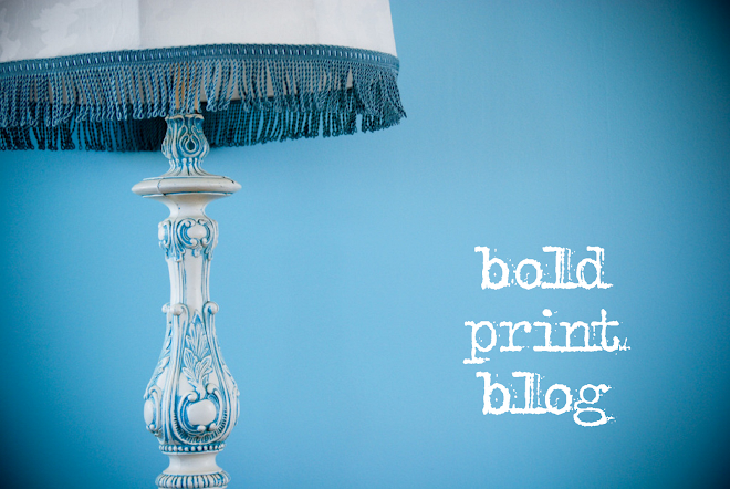 bold print blog
