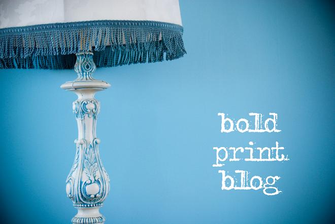 bold print blog