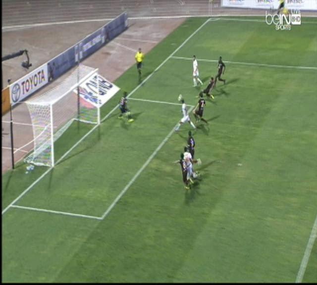 اهداف مباراة  ام صلال والجيش  2-1 فى دورى نجوم قطر