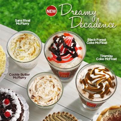 Mcdonald's Dreamy Decadence Desserts