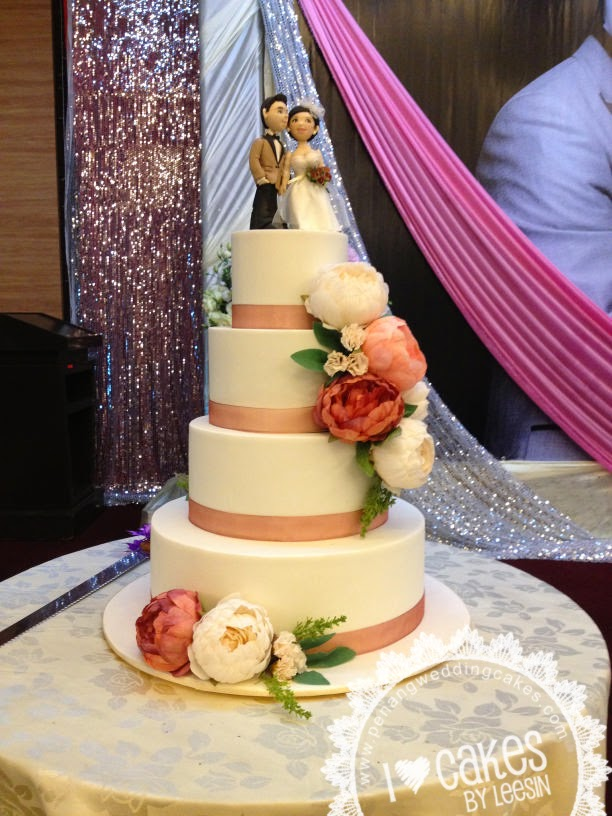 Penang Wedding Cakes by Leesin: December 2014