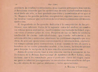 Artículo de José Tolosa y Carreras en la Revista Ruy López (4)