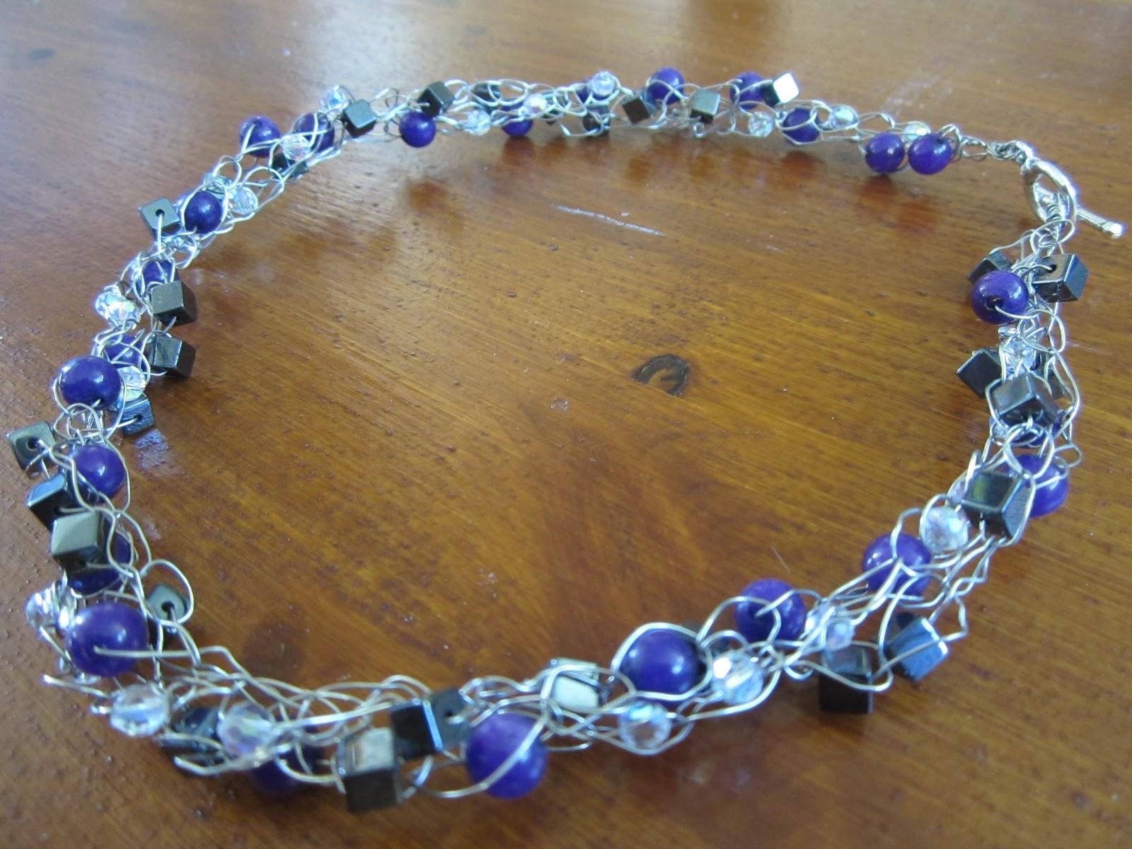 Toadly Good: Wire Crochet Earrings