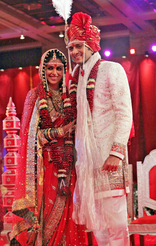 the gallery for gt genelia dsouza and ritesh deshmukh wedding