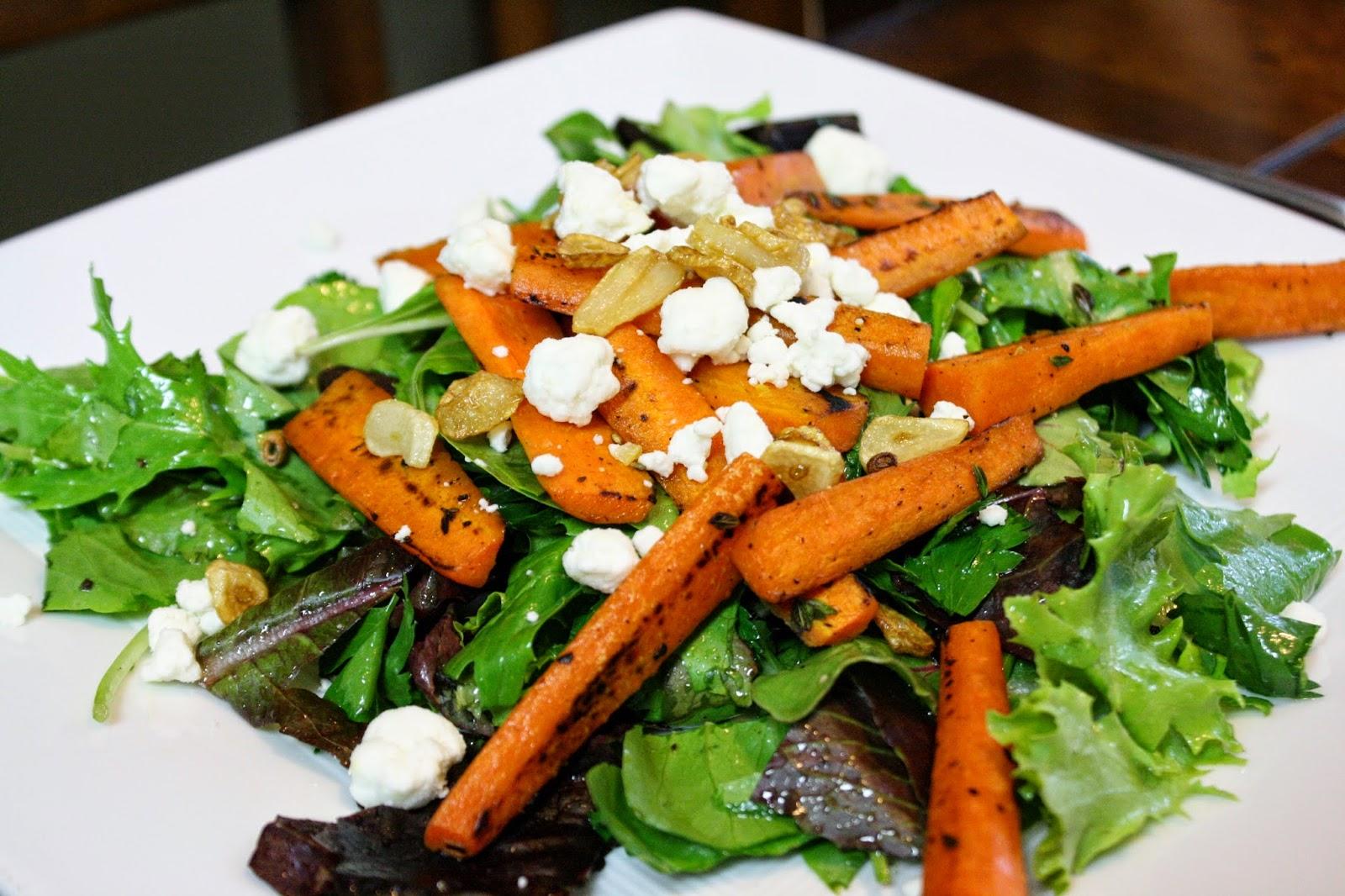 http://eatprayjuice.blogspot.com/2014/07/arugula-salad-with-carrots-and-garlic.html