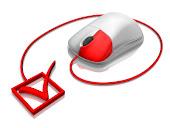 """Clica no """"rato"""" em baixo e podes aceder ao Catálogo de Livros On-line da Biblioteca"""