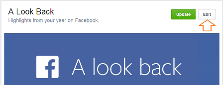 A simple way to edit Your Facebook Look Back Video