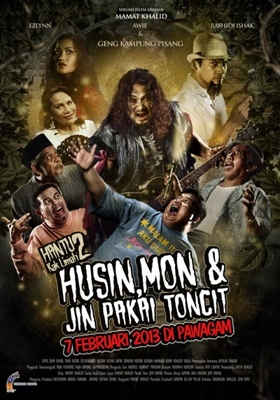 HUSIN, MON & JIN PAKAI TONCIT (2013)
