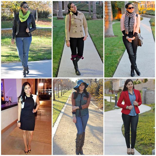 2013 outfit recap
