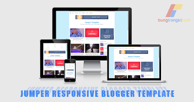Jumper responsive mobile SEO blogger template