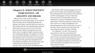 Kindle reading application for Windows 8
