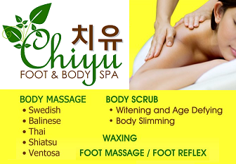 For more information, visit Chiyu's Facebook Page