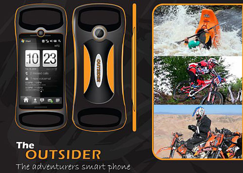 outsider phone