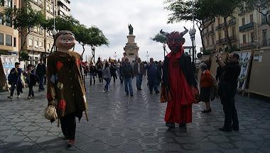 14/11/2011 - TROBADA DE GEGANTONS AL PASSEIG DE LES PALMERES DE TARRAGONA