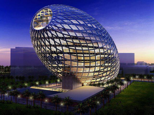Best Buildings And Beautiful Places Of The World Cybertecture Egg Mumbai India