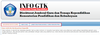 Info GTK untuk Cek Info PTK Tunjangan Guru Link Baru