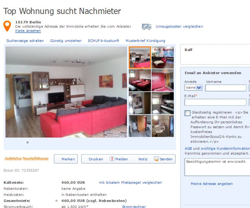 single wohnung bad nauheim Eberswalde
