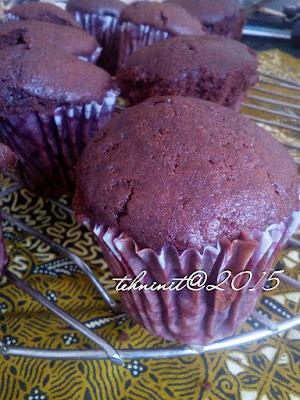 cupcake cokelat buttermilk